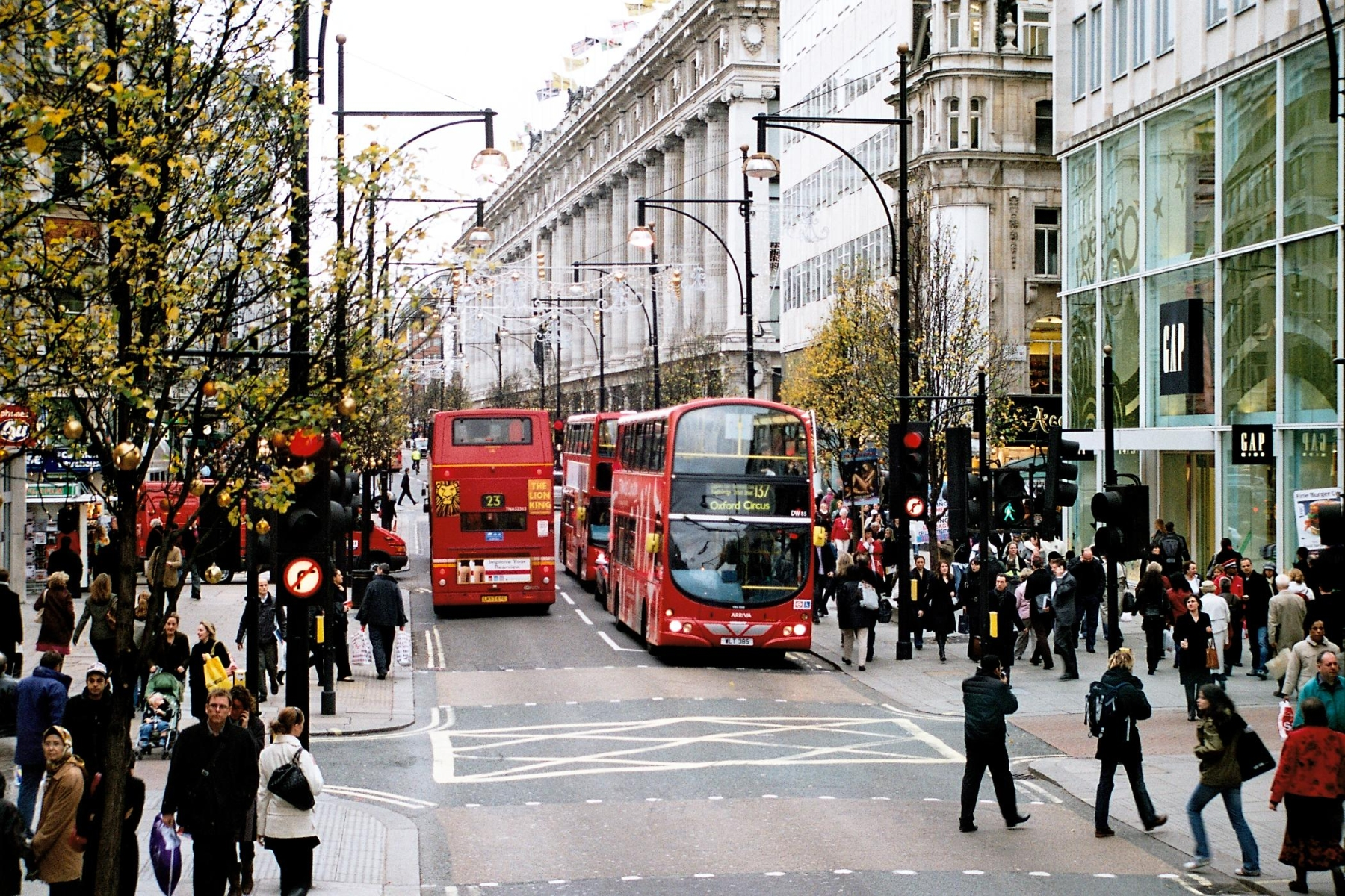 Oxford Street Transformation