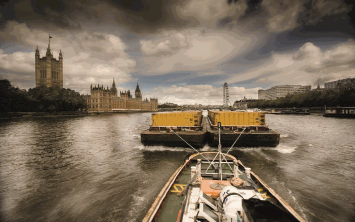 Moving freight on the Thames under discussion at Freight by Water conference