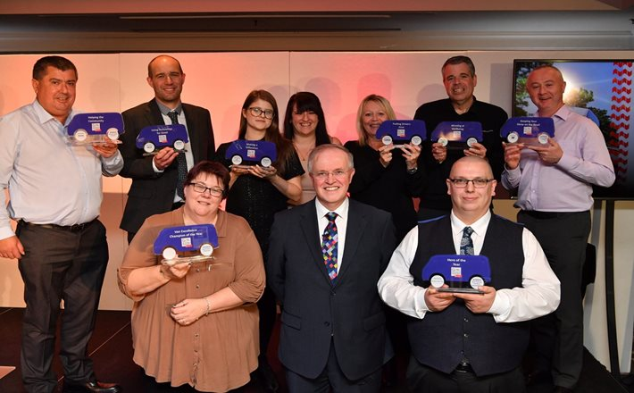 UK's finest van operators and drivers recognised at FTA Van Excellence awards