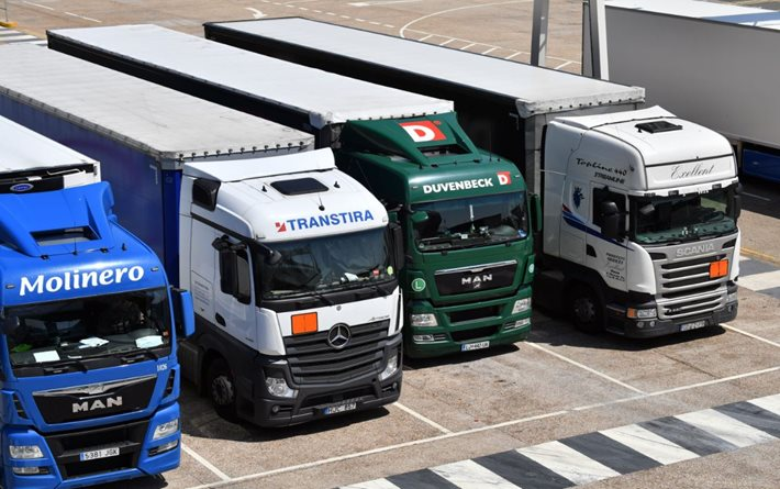 Logistics UK response to allocation of 29 potential lorry park sites