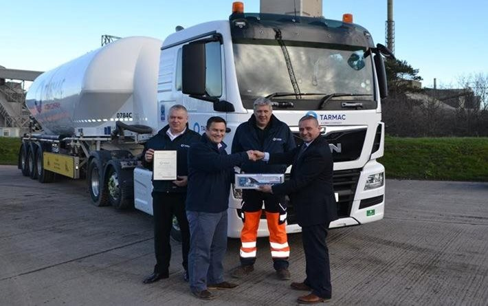 FTA recognises work of Tarmac with Roadworthiness Award
