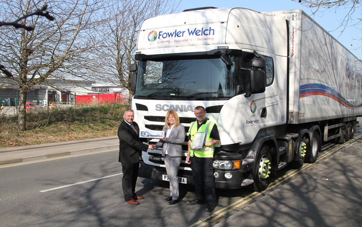 Fowler Welch Hilsea presented with FTA Roadworthiness Award
